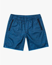 "0 YOGGER IV ATHLETIC SHORTS 17"" Blue V2133RYG RVCA"