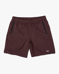"0 YOGGER IV ATHLETIC SHORTS 17"" Pink V2133RYG RVCA"