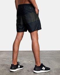 """7 Yogger IV Athletic Shorts 17"""" Black V2133RYG RVCA"""