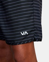 """8 Yogger IV Athletic Shorts 17"""" Black V2133RYG RVCA"""