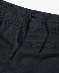 """12 Yogger IV Athletic Shorts 17"""" Black V2133RYG RVCA"""