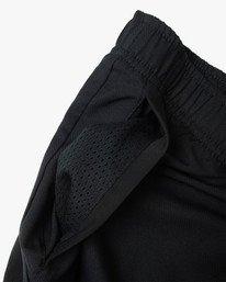 """13 Yogger IV Athletic Shorts 17"""" Black V2133RYG RVCA"""