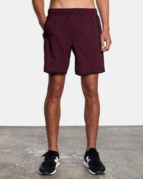 """2 Yogger IV Athletic Shorts 17"""" Pink V2133RYG RVCA"""