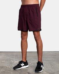 """4 Yogger IV Athletic Shorts 17"""" Pink V2133RYG RVCA"""
