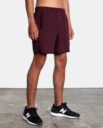"""6 Yogger IV Athletic Shorts 17"""" Pink V2133RYG RVCA"""