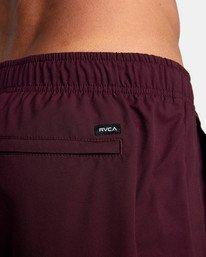 """9 Yogger IV Athletic Shorts 17"""" Pink V2133RYG RVCA"""