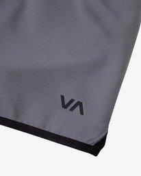 """10 Yogger IV Athletic Shorts 17"""" Grey V2133RYG RVCA"""