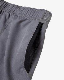 """11 Yogger IV Athletic Shorts 17"""" Grey V2133RYG RVCA"""