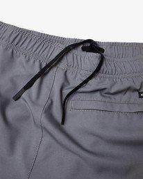 """12 Yogger IV Athletic Shorts 17"""" Grey V2133RYG RVCA"""