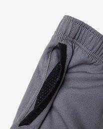 """13 Yogger IV Athletic Shorts 17"""" Grey V2133RYG RVCA"""
