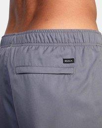 """9 Yogger IV Athletic Shorts 17"""" Grey V2133RYG RVCA"""