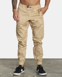 0 SPECTRUM CUFFED WOVEN PANT Brown V3031RSC RVCA