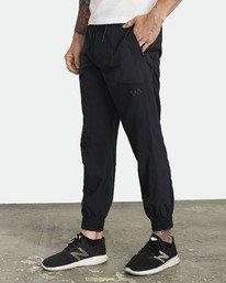 0 YOGGER TRACK PANT Black V3041RYP RVCA
