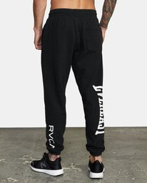 4 EVERLAST RELAXED SWEATPANTS Black V3083RES RVCA