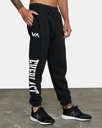 5 EVERLAST RELAXED SWEATPANTS Black V3083RES RVCA