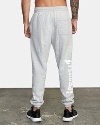 2 EVERLAST RELAXED SWEATPANTS Grey V3083RES RVCA