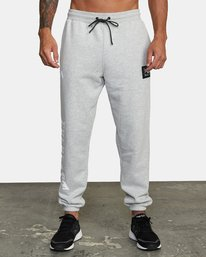 1 EVERLAST RELAXED SWEATPANTS Grey V3083RES RVCA