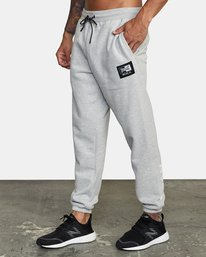 3 EVERLAST RELAXED SWEATPANTS Grey V3083RES RVCA