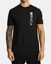 0 RVCA BOX T-SHIRT Black V4041RBO RVCA