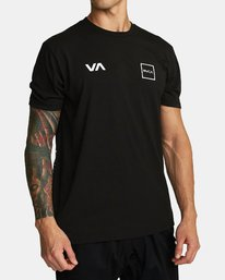 0 RVCA LANE T-SHIRT Black V4041RRL RVCA