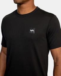 4 VA Sport | RVCA 2X Workout Shirt Black V4041RRX RVCA