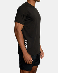 6 VA Sport | RVCA 2X Workout Shirt Black V4041RRX RVCA