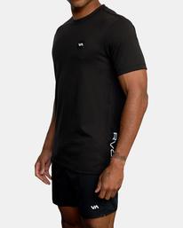 7 VA Sport | RVCA 2X Workout Shirt Black V4041RRX RVCA