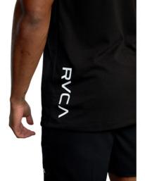 8 VA Sport | RVCA 2X Workout Shirt Black V4041RRX RVCA
