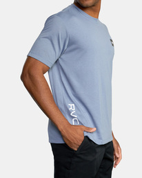4 RVCA 2X Workout Shirt Blue V4041RRX RVCA