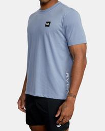5 RVCA 2X Workout Shirt Blue V4041RRX RVCA