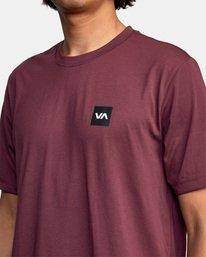 6 RVCA 2X Workout Shirt Green V4041RRX RVCA