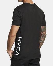 6 RVCA 2X SHORT SLEEVE TEE Black V4041RRX RVCA