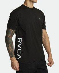 8 RVCA 2X SHORT SLEEVE TEE Black V4041RRX RVCA