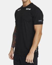 3 DPM SPORT TEE Black V4043RDP RVCA