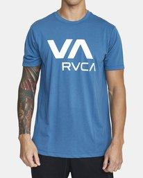 0 VA RVCA SHORT SLEEVE TEE Black V4043RVR RVCA