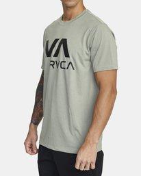 2 VA RVCA SHORT SLEEVE TEE Multicolor V4043RVR RVCA