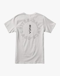 0 Pin Around Performance T-Shirt White V404URPI RVCA