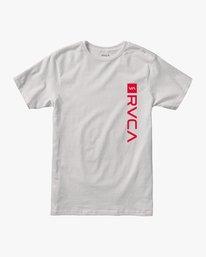 0 RVCA Revert Performance T-Shirt White V404URRE RVCA