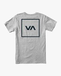 0 RVCA Box Drirelease T-Shirt Grey V404VRBO RVCA