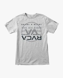 0 Brand Over Balance TEE Grey V404VRBR RVCA