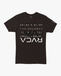 0 Brand Over Balance T-Shirt Black V404VRBR RVCA