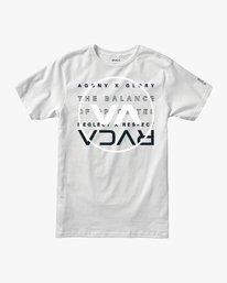 0 Brand Over Balance T-Shirt White V404VRBR RVCA