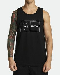 0 SPORT BALANCE BOX TANK TOP Black V4811RBB RVCA