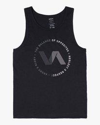 0 VA TRACK TANK Black V4811RTE RVCA