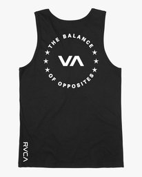 0 Stealth Seal Tank Top Black V483TRSS RVCA
