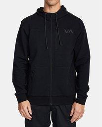 0 SPORT TECH HOODIE Black V6013RSH RVCA