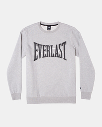 0 EVERLAST PULLOVER SWEATSHIRT Grey V6043REP RVCA