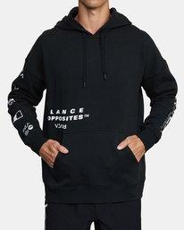 0 Sport Fleece hoodie Multicolor V6043RSH RVCA