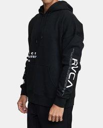 2 Sport Fleece hoodie Multicolor V6043RSH RVCA