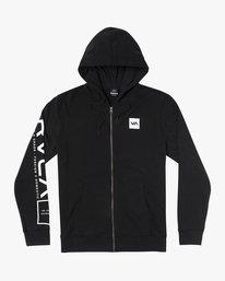0 SWIFT HOODIE Black V6053RSH RVCA